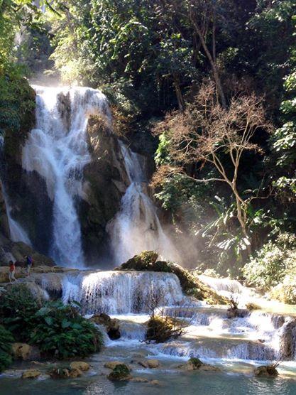 Cascades de Kuang Si, Luang Prabang, Laos   hintmytrip.com - Blog voyage tour du monde sac-a-dos