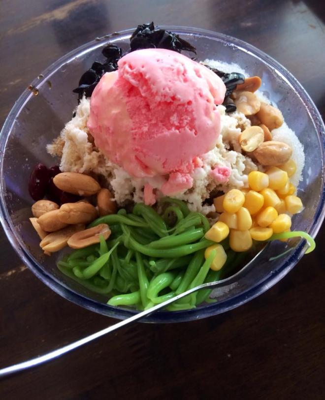 Cendol, dessert traditionnel Malais, Malaisie | hintmytrip.com Blog tour du monde sac-a-dos