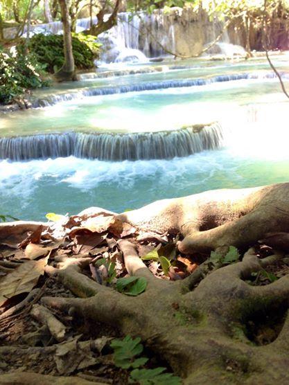 Cascades Kuang Si, Luang Prabang, Laos   hintmytrip.com - Blog voyage tour du monde sac-a-dos