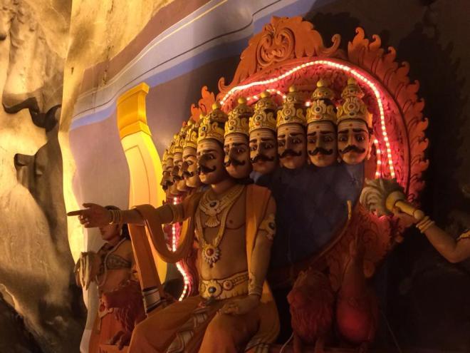 temple hindouiste, Malaisie | hintmytrip.com Blog tour du monde sac-a-dos