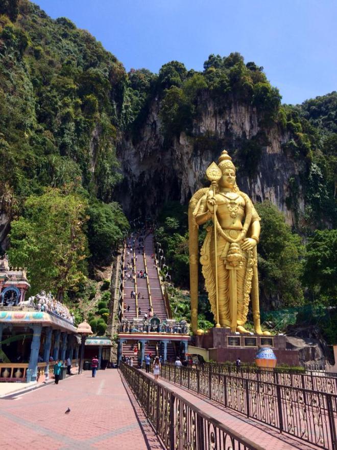 grottes de Batu, Kuala Lumpur, Malaisie | hintmytrip.com Blog tour du monde sac-a-dos